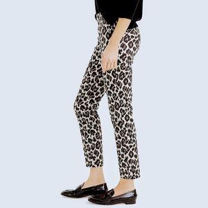 J. Crew Leopard Martie Pants